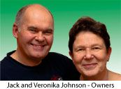 Jack and Veronica Johnson - Owners