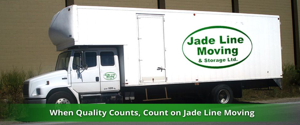 When Quality Counts, Count on Jade Line Moving | moving truck