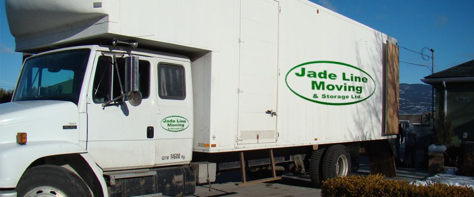 Jade Line Moving truck